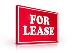 lease sign